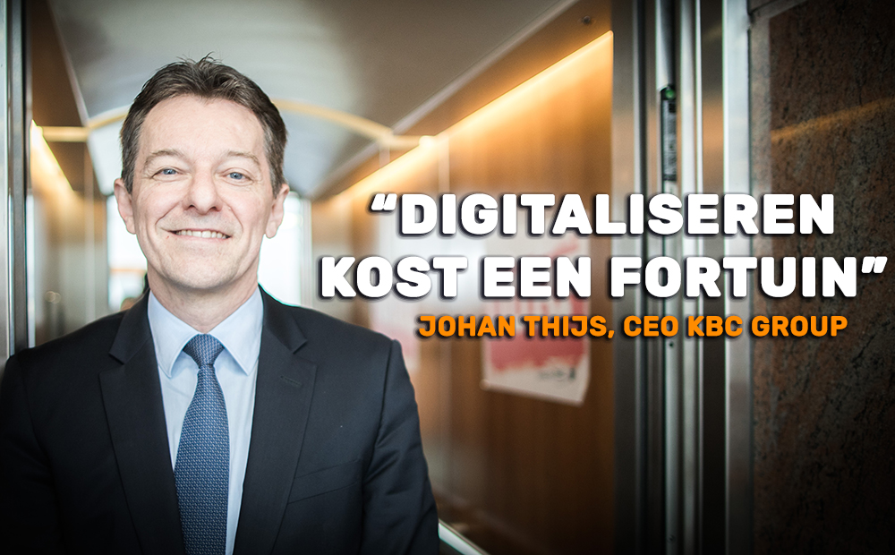 Johan Thijs CEO KBC Group