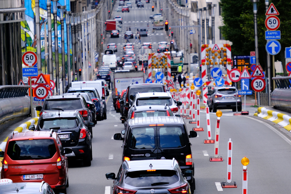 File in Brussel