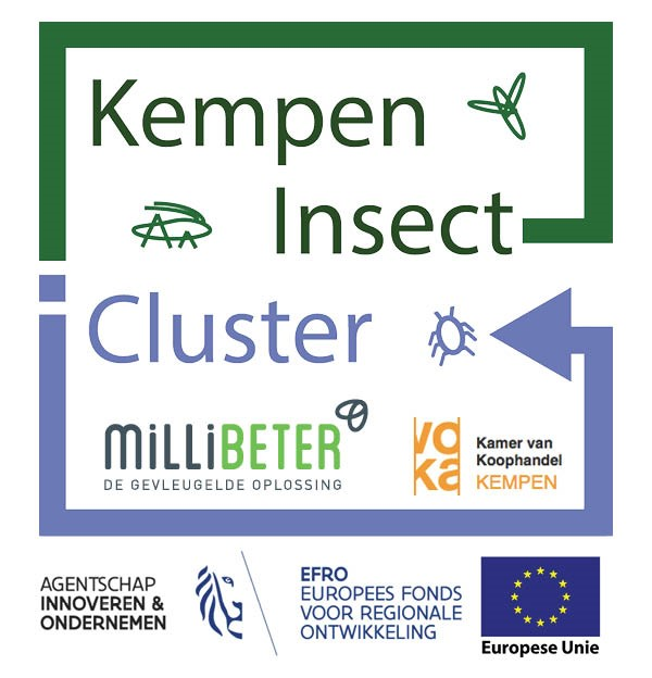 Kempen insect valley cluster logo