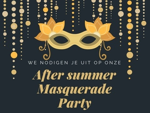 After Summer Masquerade Party