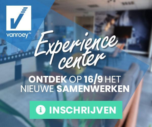 Kom 16/09 naar de Relaunch van ons Experience Center!