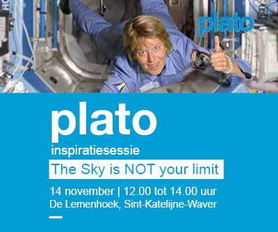 Plato Inspiratiesessie The Sky is NOT your limit