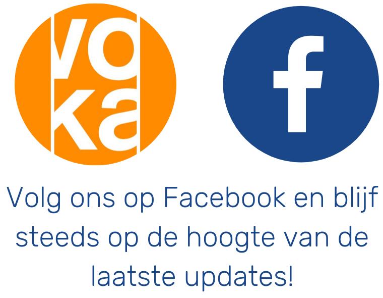 Volg ons op Facebook voor de nieuwste updates