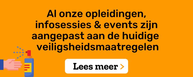 Protocol coronaproof events Voka – Kamer van Koophandel Vlaams-Brabant en Voka Metropolitan