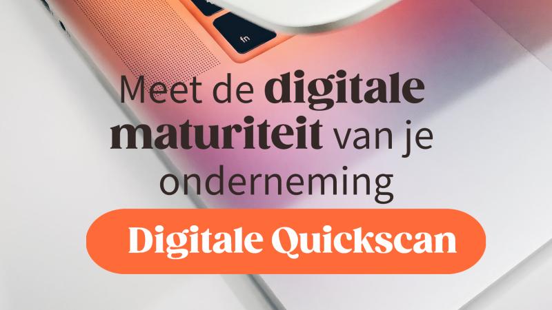 Voka Digitale Quickscan voor ondernemingen