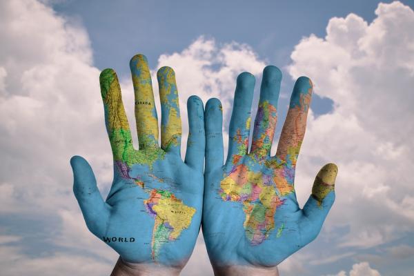 hands map