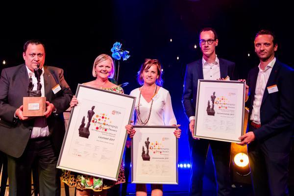 Slagmolen wint Ondernemersprijs Herman Dessers
