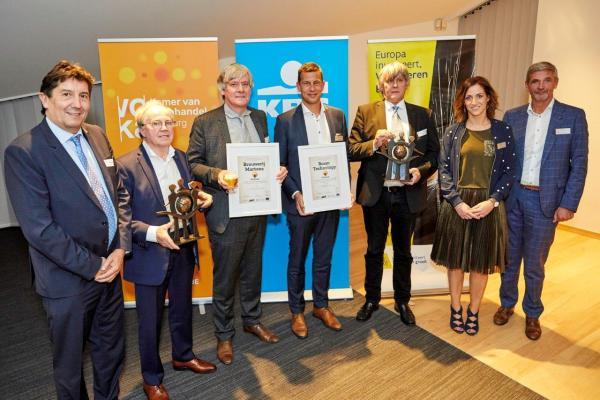 Brouwerij Martens en Roam Technology winnen Limburgse Exportprijs