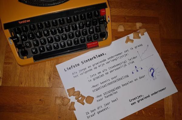 Sinterklaas brief generation y