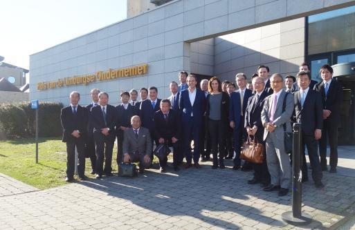 Voka – KvK Limburg verwelkomt Japanse investeerders