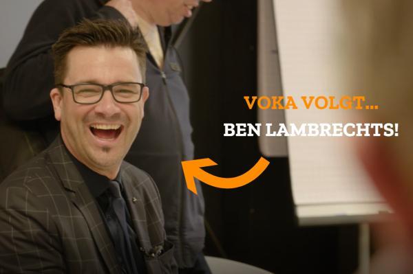 Voka volgt Ben Lambrechts