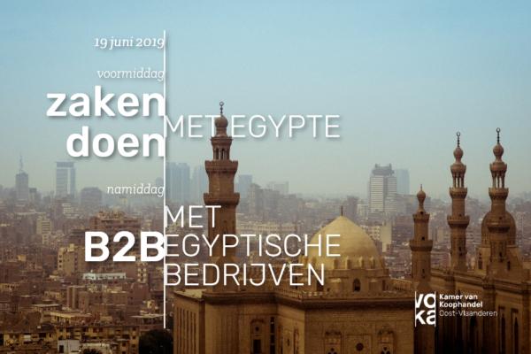 Zakendoen met Egypte