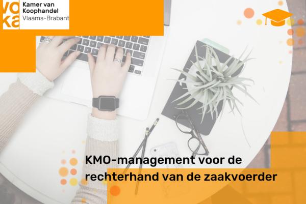Kmo-management voor de rechterhand van de zaakvoerder