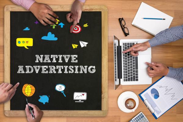 Native advertising shutterstock