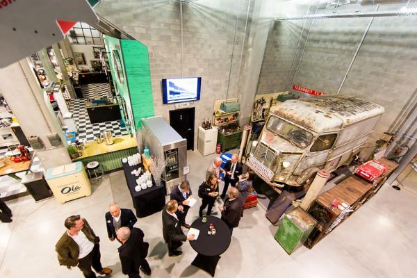 Real Estate Community (REC) bezoekt Frame21 in Herentals