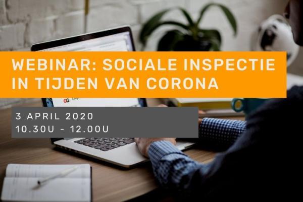 Webinar: sociale inspectie in tijden van corona