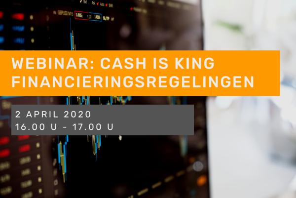 Webinar Cash is King: Financieringsregelingen
