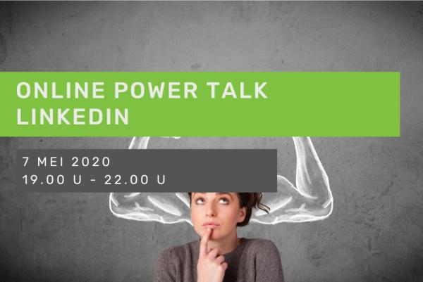 Online Power Talk: Linkedin dynamische workshop bryo