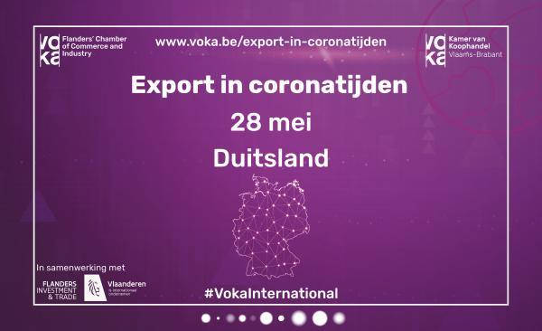 Export in coronatijden: Duitsland