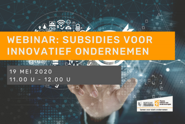 Webinar - Subsidies voor innovatief ondernemen