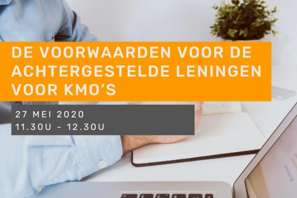 De voorwaarden voor de achtergestelde leningen voor kmo's