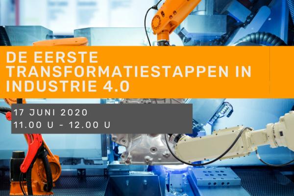Webinar - De eerste transformatiestappen in Industrie 4.0