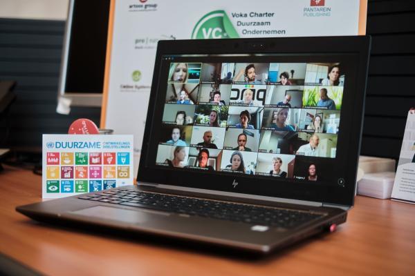 Digitale uitreiking VCDO-awards bij Voka Vlaams-Brabant