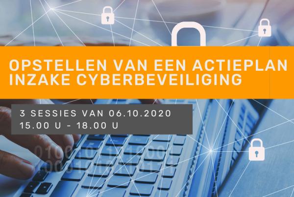 Opstellen van een actieplan inzake cyberbeveiliging in 3 sessies