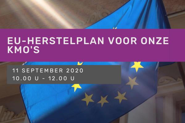 EU-herstelplan voor onze KMO's