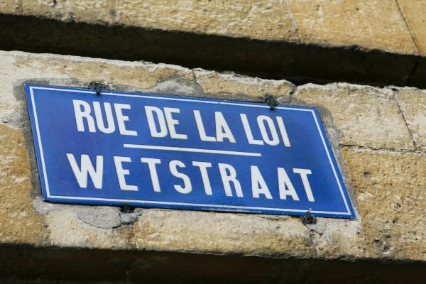 foto wetstraat