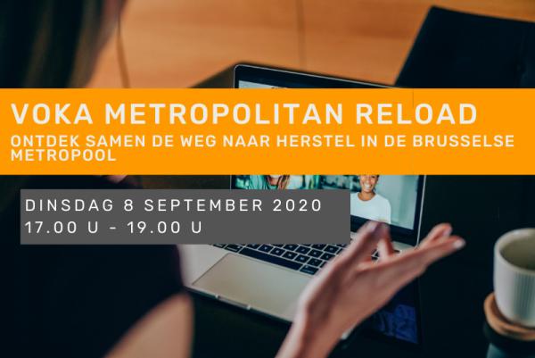 Voka Metropolitan Reload: Ontdek samen de weg naar herstel in de Brusselse metropool