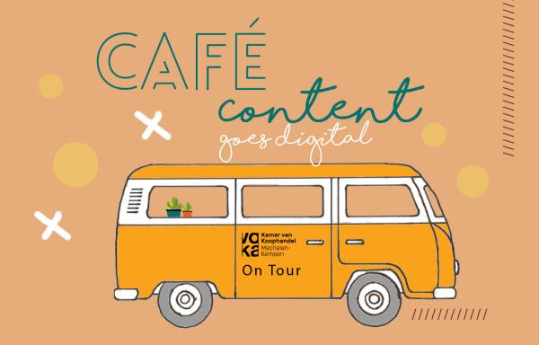 café content goes digital