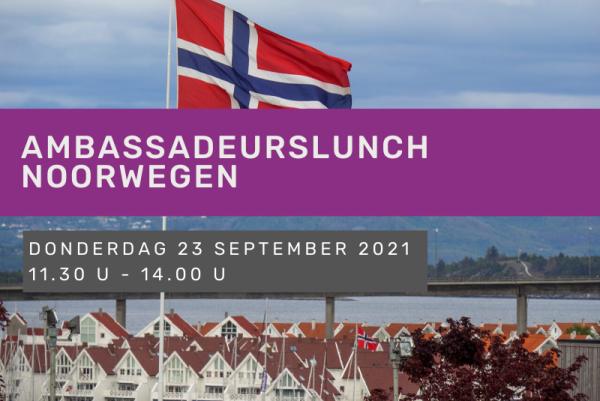 Ambassadeurslunch Noorwegen