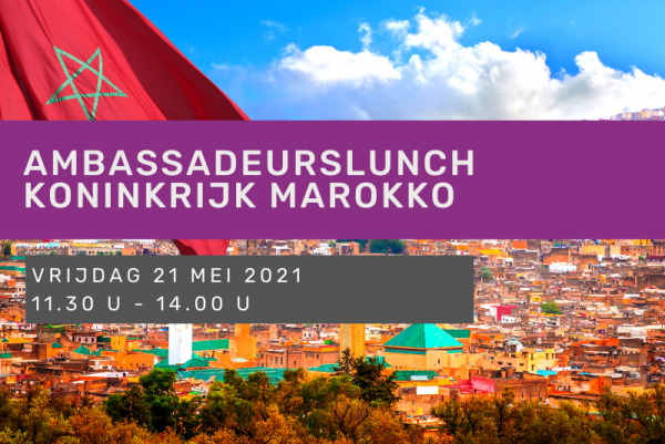 Ambassadeurslunch Koninkrijk Marokko