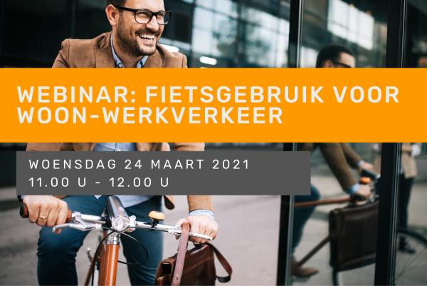 Webinar: fietsgebruik voor woon-werkverkeer