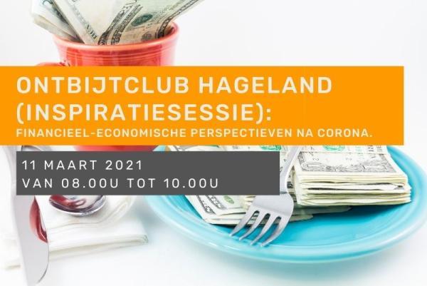Ontbijtclub Hageland (inspiratiesessie): Financieel-economische perspectieven na corona.