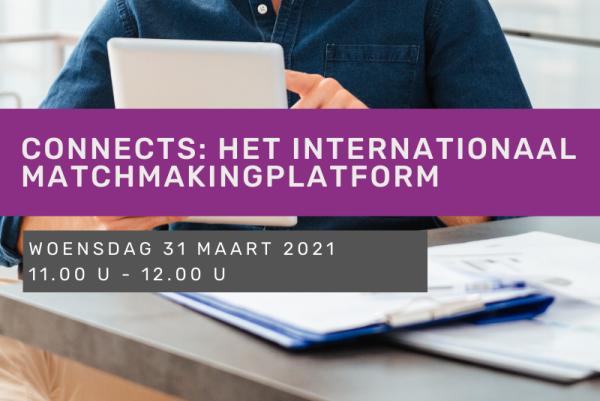 Connects: het internationaal matchmakingplatform