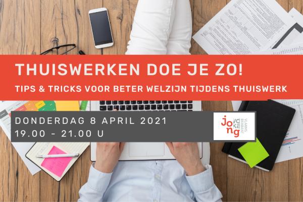 Jong Voka Vlaams-Brabant: Thuiswerken doe je zo!