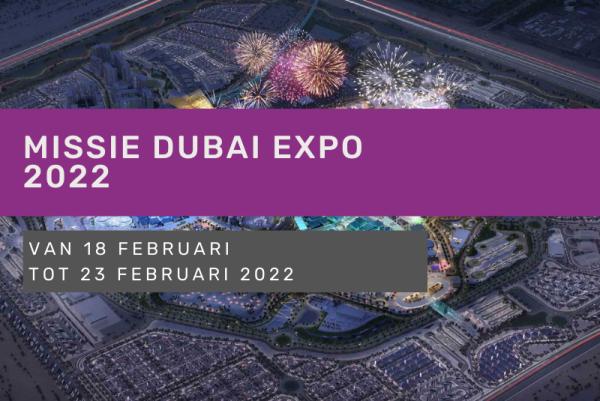 Missie Dubai Expo 2022