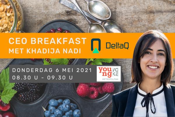 YVM CEO Breakfast met Khadija Nadi, DeltaQ