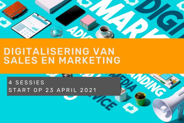 digitalisering sales en marketing