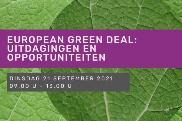 European Green Deal: uitdagingen en opportuniteiten