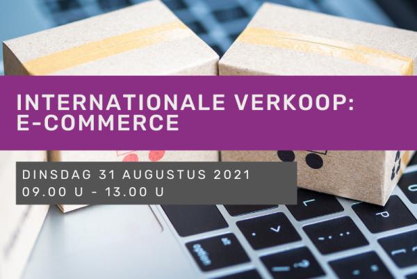 Internationale verkoop: e-commerce
