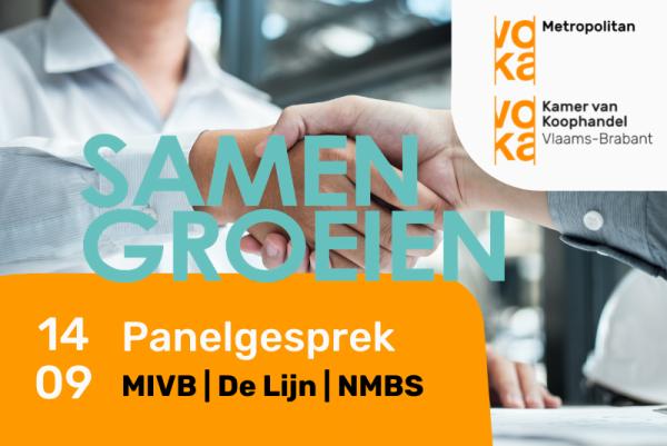 Debattenreeks 'Brussel-Vlaanderen: Samen groeien!' – Sessie 2: Nieuwe kansen op meer duurzame mobiliteit in de Brusselse metropool