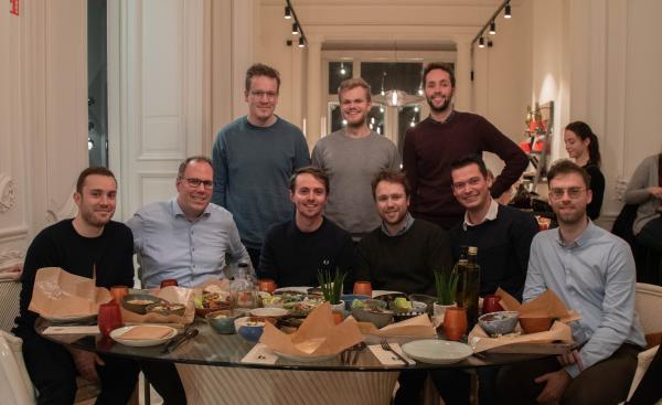 Het team achter Claeyssens & Couckuyt, voorheen Square Metre