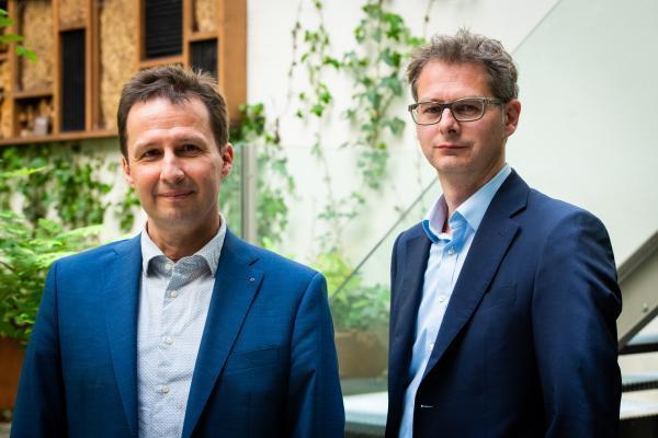 Karl Collaerts en Bart Van Craeynest