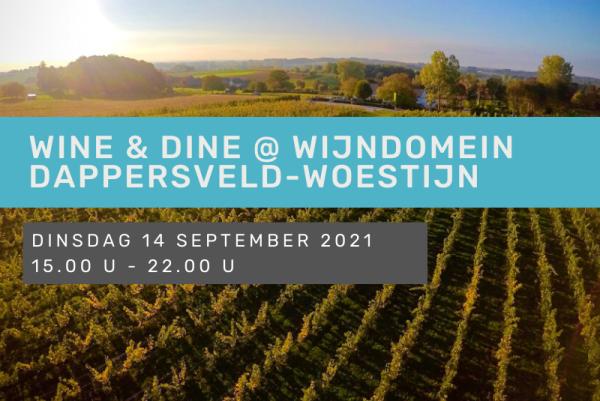 Wine en Dine @ Wijndomein Dappersveld-Woestijn