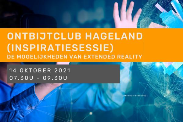 Inspiratiesessie - Ontbijtclub Hageland - De mogelijkheden van 'extended reality'