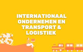 Logo Internationaal ondernemen, logistiek & transport