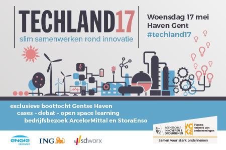 Techland 2017 - Slim samenwerken rond innovatie